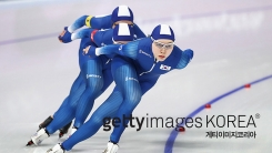 여자 빙속, 팀 추월 준결승 진출 좌절
