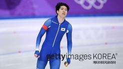 차민규, 빙속 남자 500m에서 은메달...1위에 0.01초 차