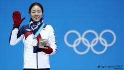 이상화·차민규 공식 메달 수여식 참석
