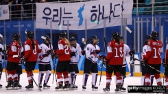 아이스하키 남북 단일팀 27일간의 대장정 마무리