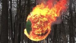 [지구촌생생영상] 성냥 4만 2천 개에 불을 붙이면?
