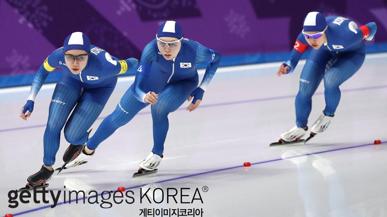 스피드 스케이팅 女 팀 추월, '왕따 논란' 속 8위