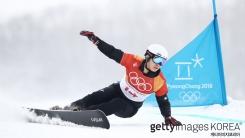 스노보드 평행대회에서 '이상호' 한국 최초 은메달