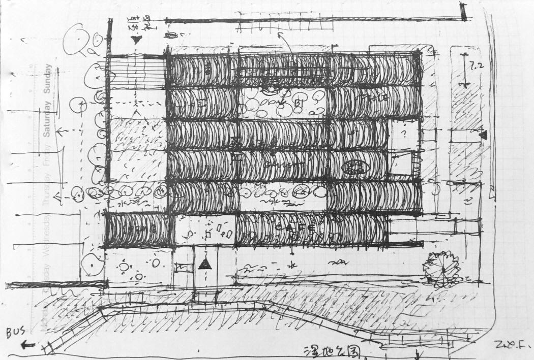 〔안정원의 건축 칼럼〕 빛과 그림자, 시간의 흐름을 충실히 반영한 주민을 위한 복합공간3