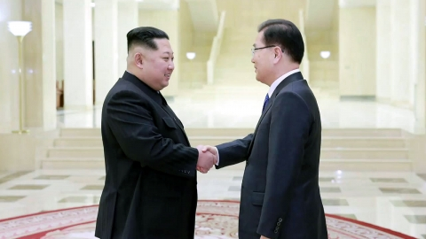 특사단, 김정은 위원장과 만찬...오늘 귀환