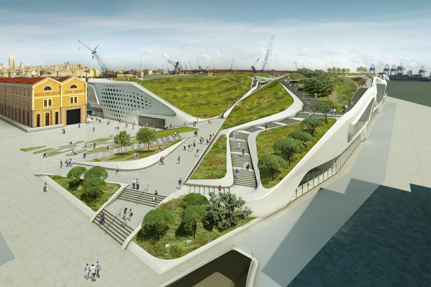 〔안정원의 건축 칼럼〕 지속가능하면서도 입체적인 도시개발 프로그램, 제노아 폰테 파로디 1