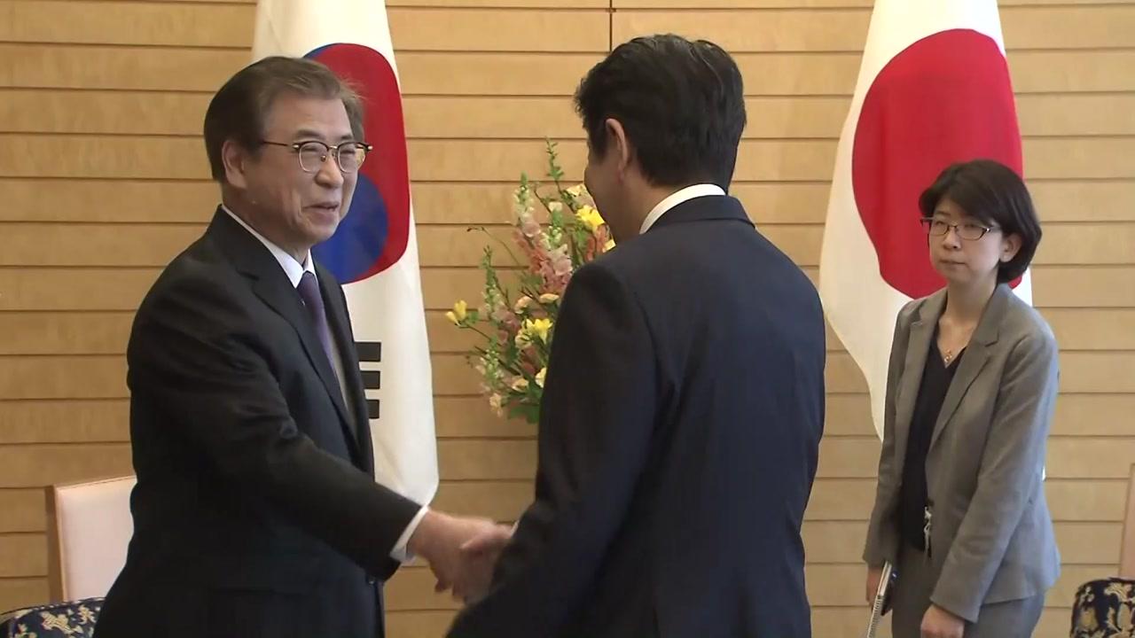 """日 아베 """"비핵화 전제 北과 대화 평가"""""""