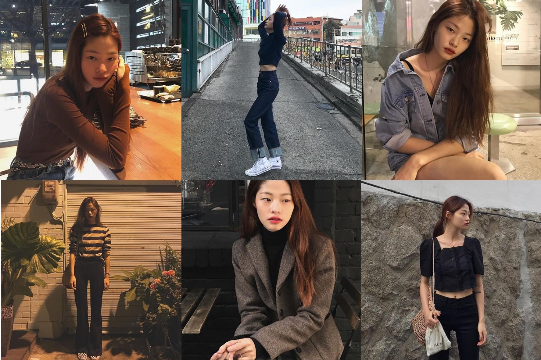 모델 김아현, 일상 속 러블리한 비주얼 화제