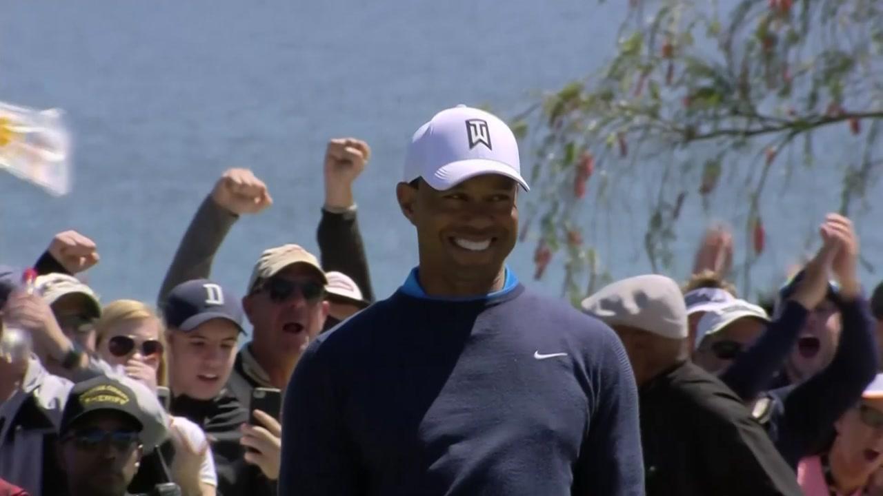 타이거 우즈, 우승 향해 산뜻한 출발...최운정, LPGA 첫날 선두