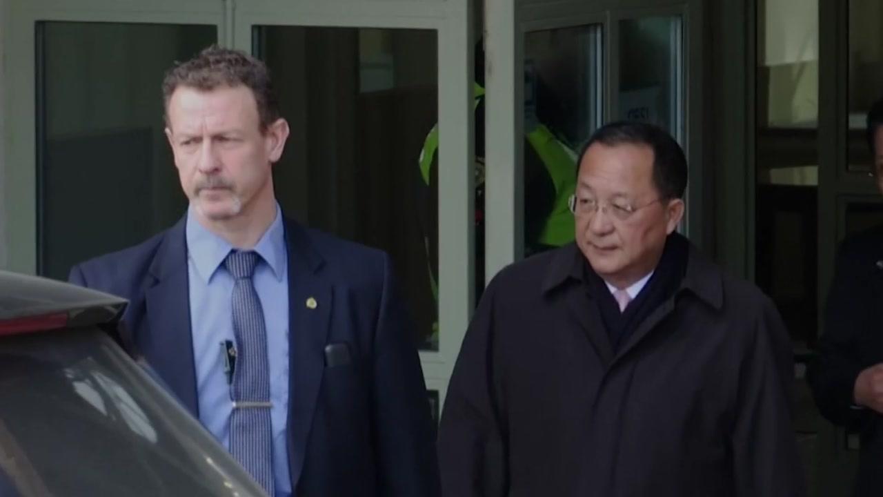 북-스웨덴 외교장관 회담 종료...북미회담·억류자 석방 협의 시사