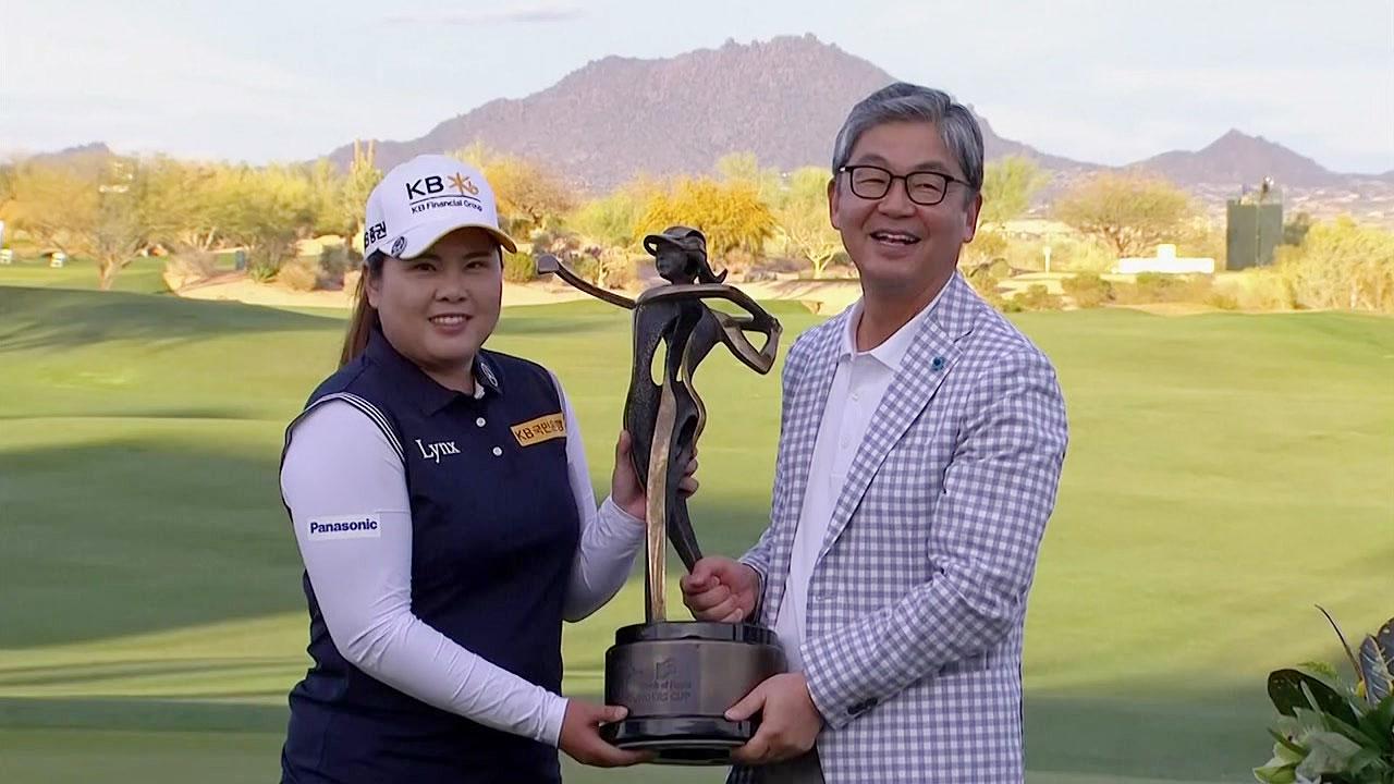 박인비, LPGA 파운더스컵 제패...19번째 LPGA 우승