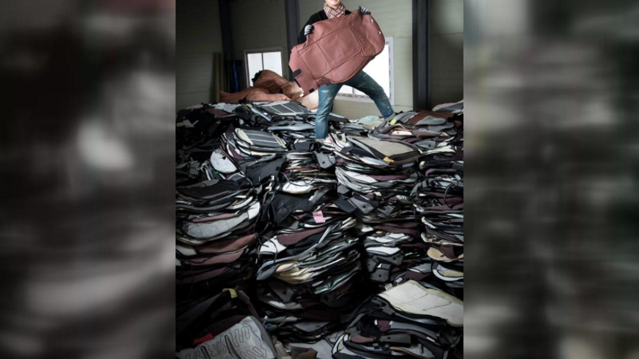 [좋은뉴스] 자동차 폐기물로 만든 가방, 희망을 나누다