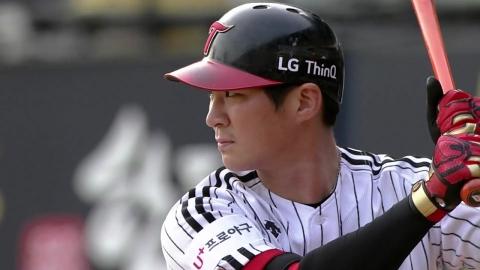 '천적' 양현종 상대로 맹타...LG, KIA에 역전승