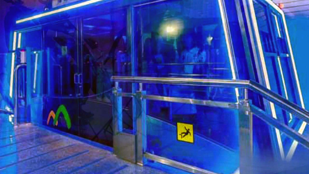 [좋은뉴스] '발달 장애인 위해'...파란 불 켠 케이블카