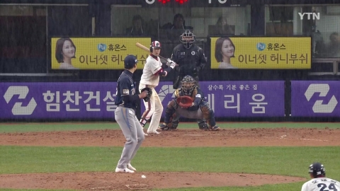 두산, 오재원 끝내기 안타...4연승 · 단독 1위
