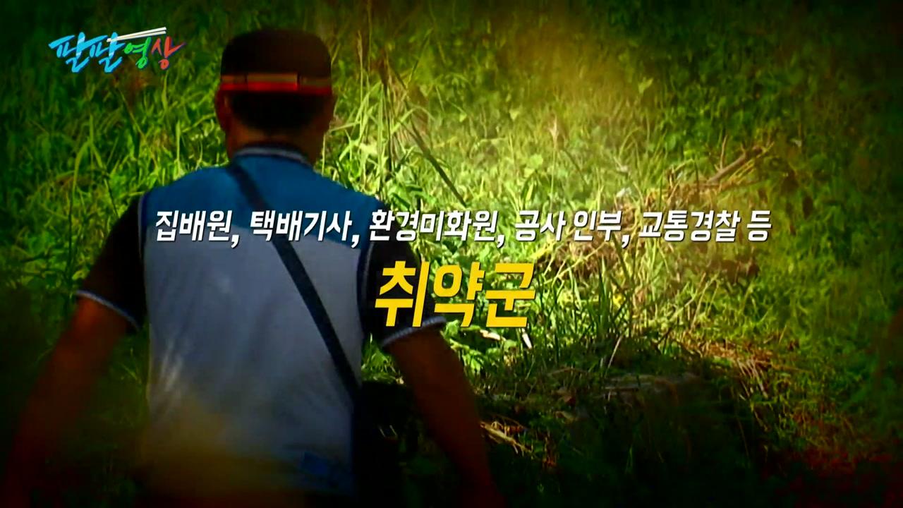 """[팔팔영상] """"미세먼지로, 집배원 8년차 피섞인 점액질"""""""