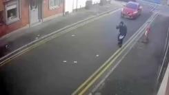 훔친 돈 길바닥에 날린 '어설픈' 도둑
