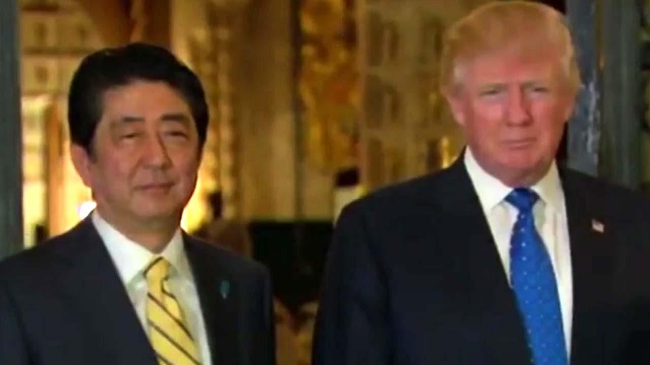 트럼프-아베, 17-18일 정상회담...북핵·통상 '담판'