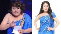 """'같은 옷 다른 느낌'...홍지민, 29kg 감량 인증샷 """"새로운 삶"""""""