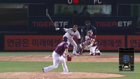 LG, 7회 7득점 4연승 3위 도약...넥센, 4연승 마감