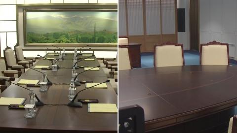 남북정상회담 D-2...평화의집 내부 공개