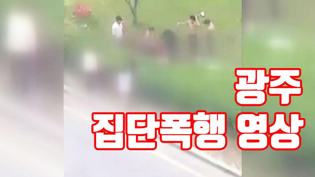 [자막뉴스] 택시 잡다 시비...'광주 폭행' 영상