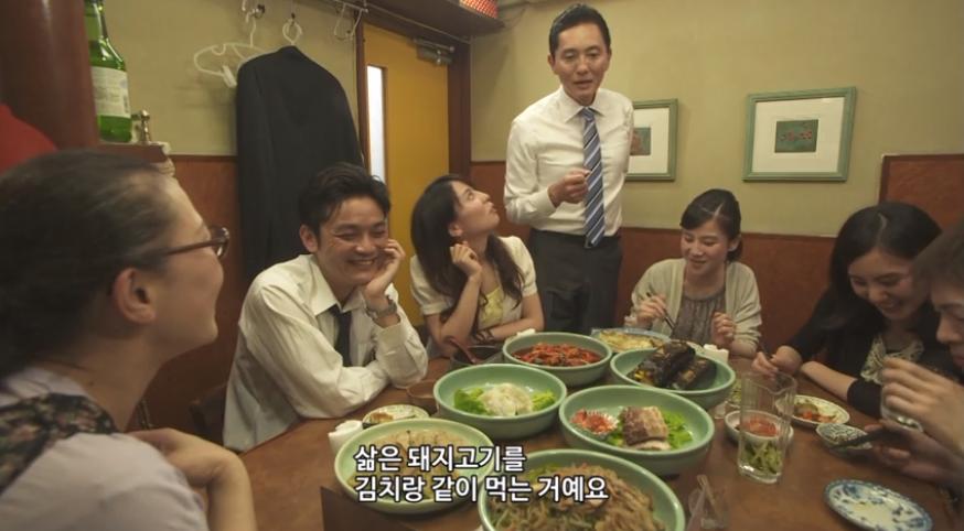 한국에서 촬영 중인 日 드라마 '고독한 미식가'