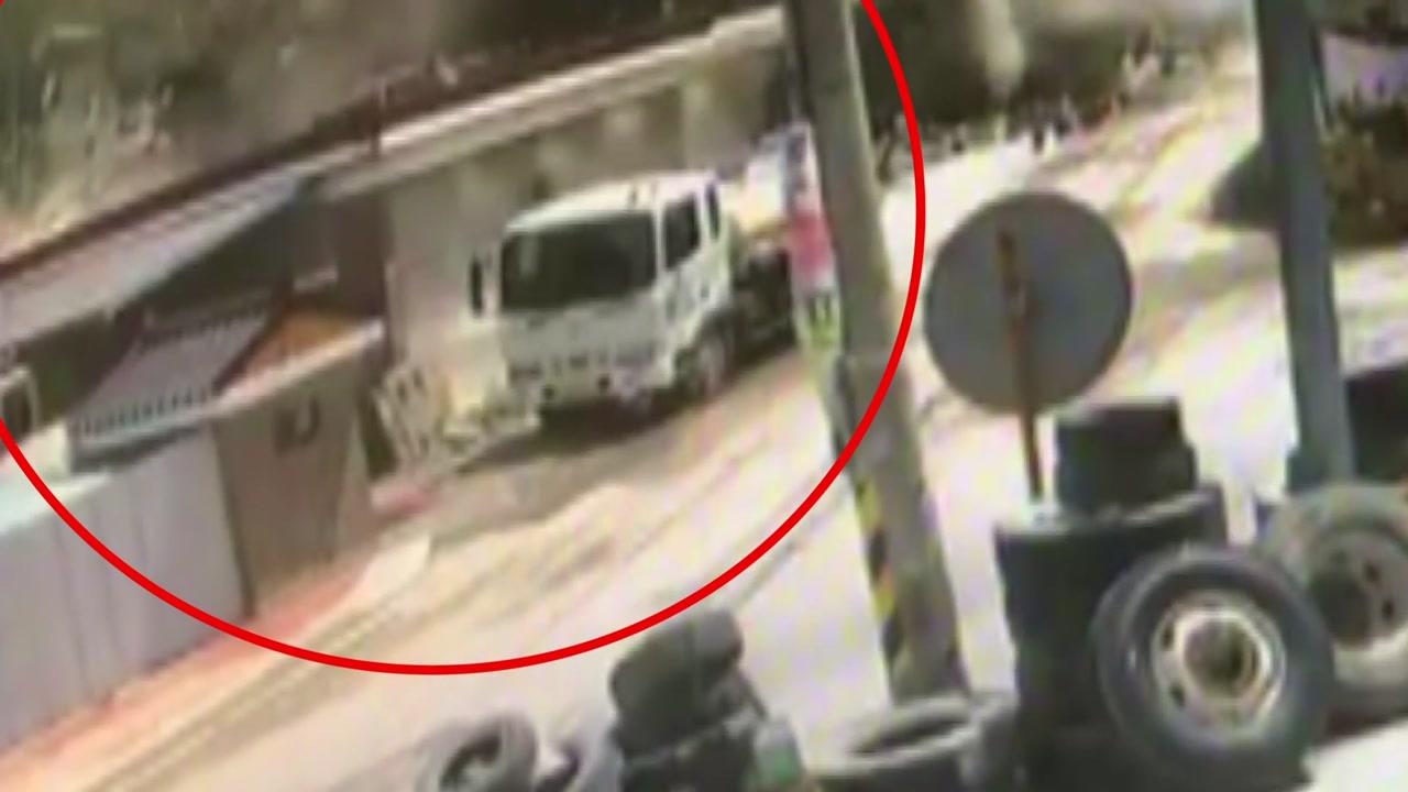 [영상] '강아지도 혼비백산' 양주 폭발사고 CCTV 공개