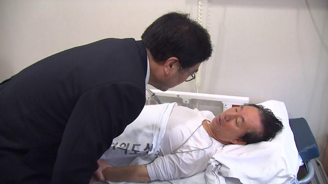 """[뉴스앤이슈]""""특검을 받아야 먹지""""...정국의 뇌관으로 떠오른 '단식'"""