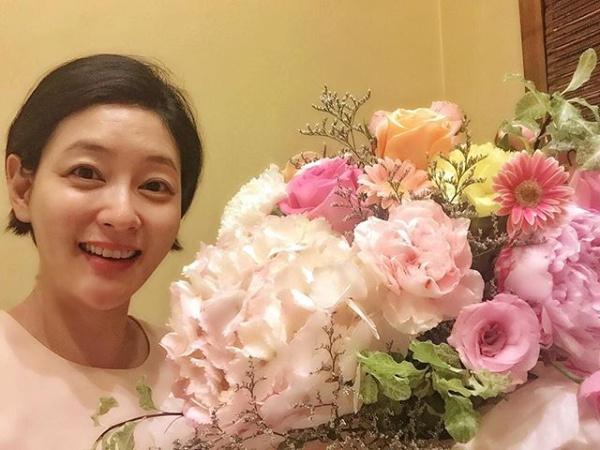 """""""참 고맙습니다""""…박진희, 출산 앞두고 과시한 '꽃미모'"""