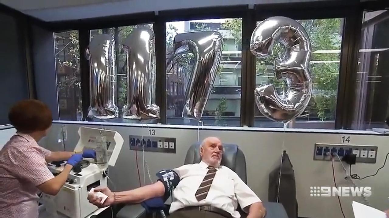 60년간 희귀 혈액 기부, 240만 명 살린 할아버지의 마지막 헌혈