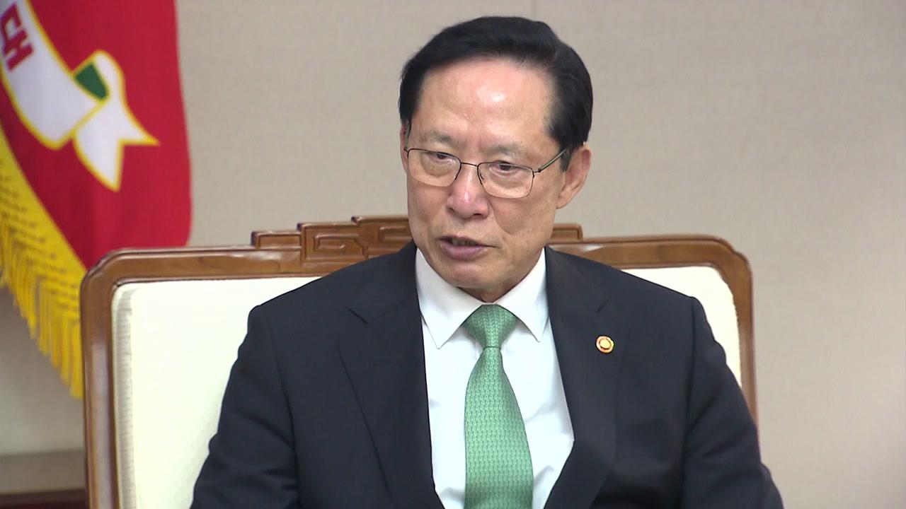 """송영무 """"한반도 비핵화에 한미동맹 역할 중요"""""""
