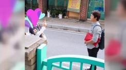 한화 안영명 선수의 다정한 팬서비스 '화제'