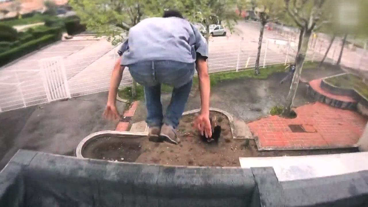 [영상] 1인칭 시점으로 촬영한 '파쿠르'