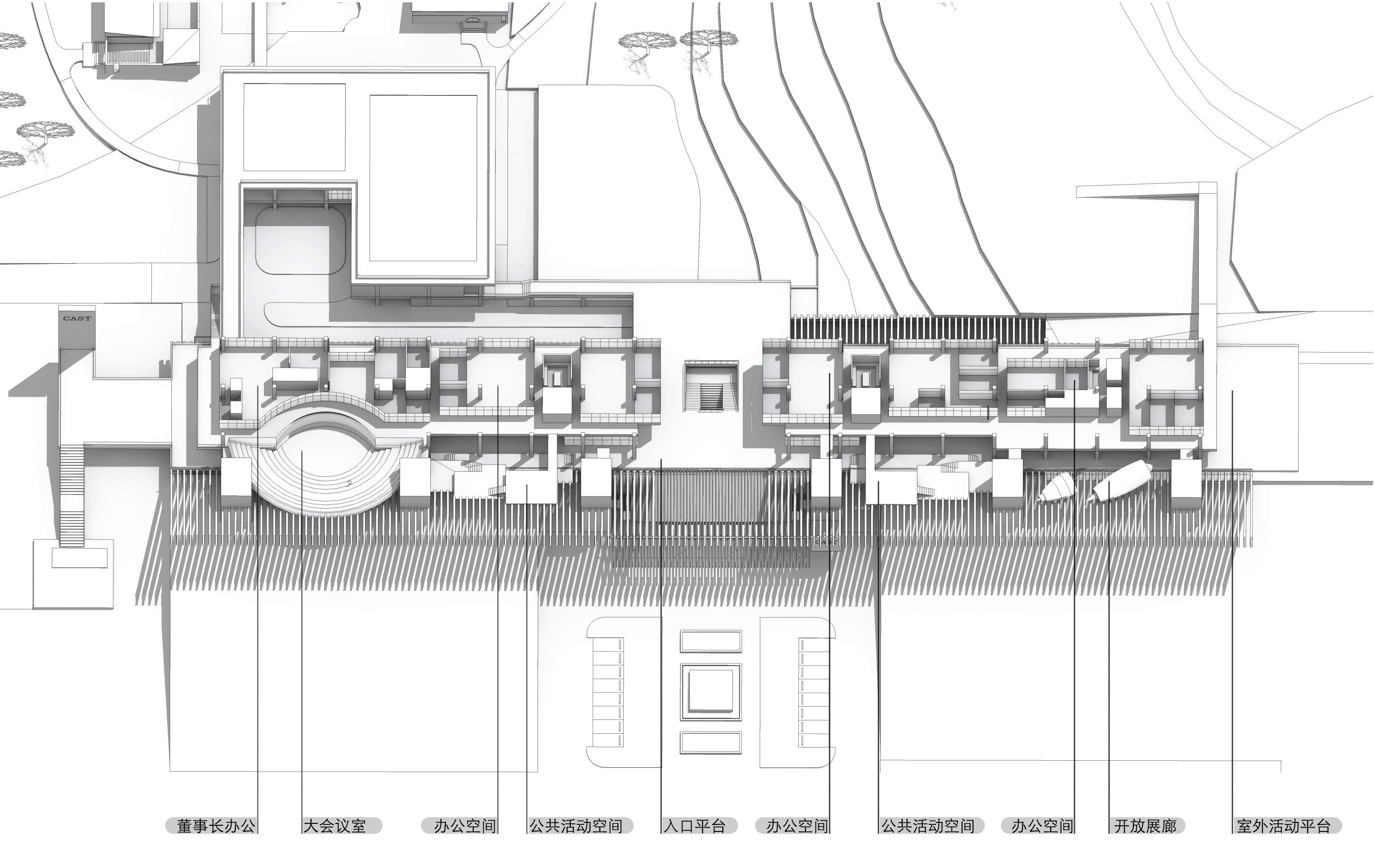 〔안정원의 디자인 칼럼〕 청두 항공우주 초합금 기술 캠퍼스의 효율적인 건축 프로그램 1