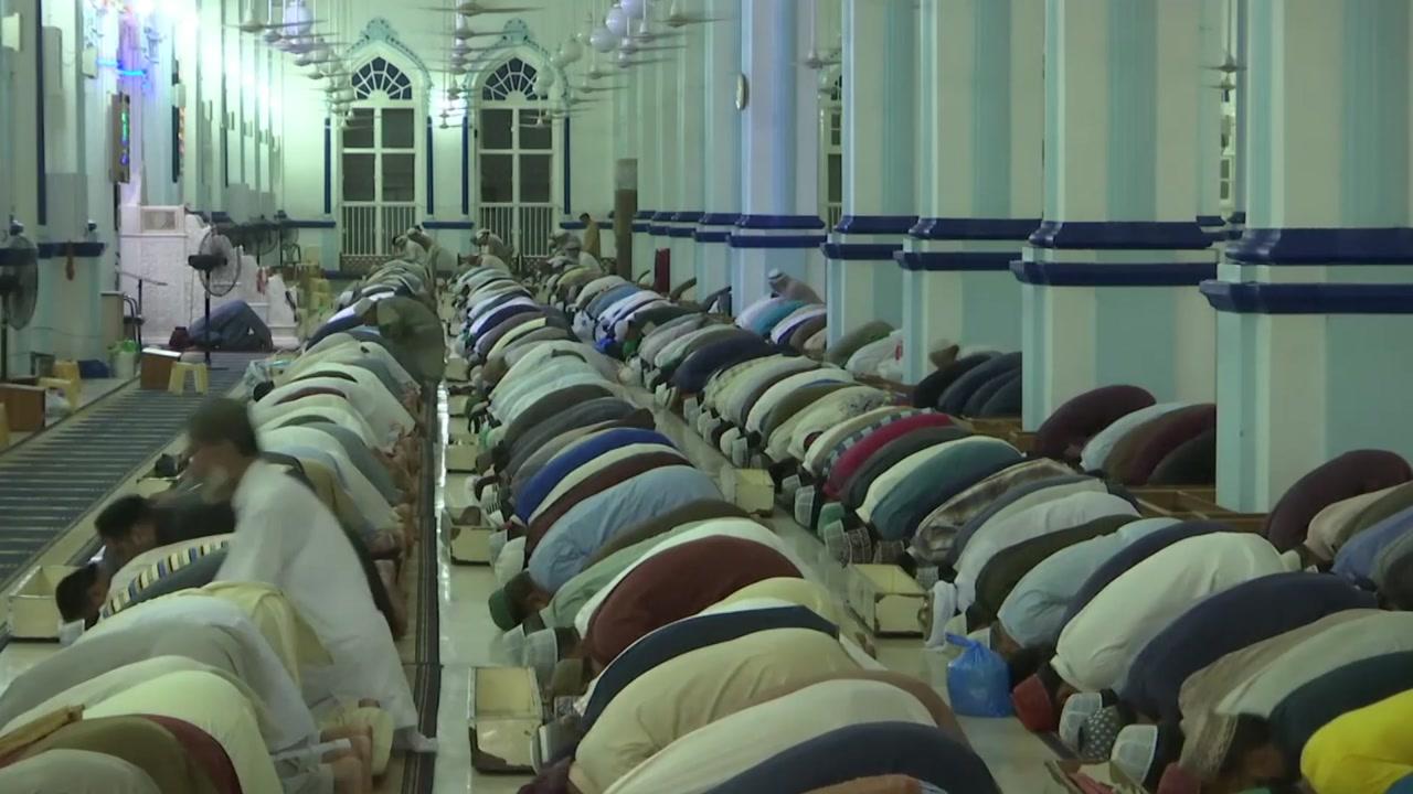 이슬람 '금식하는 거룩한 달' 라마단 시작
