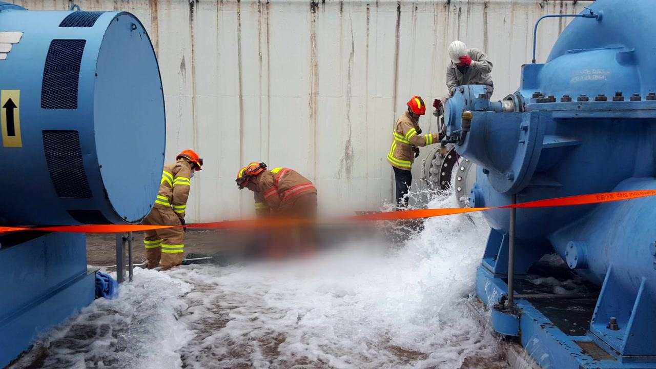 하청업체 노동자, 냉각 배관에서 숨진 채 발견