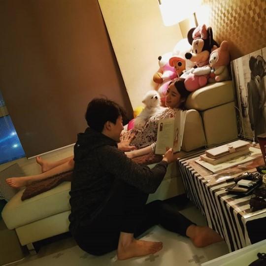 """안소미, 결혼 한달만에 깜짝 임신 소식 """"빨리 가족만들고파"""""""