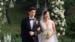 강경준♥장신영, 아름다웠던 야외 결혼식 사진 공개