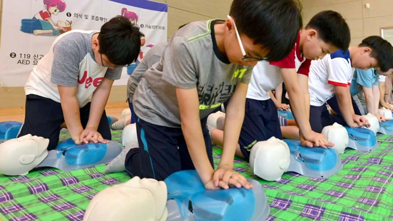 [좋은뉴스] 심폐소생술로 할아버지 살린 초등학생
