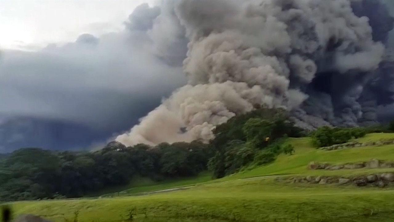 과테말라 푸에고 화산 폭발...25명 사망