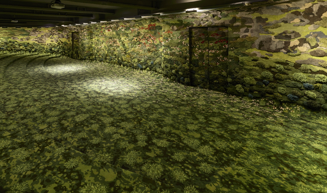〔안정원의 건축 칼럼〕 이끼를 덮은 푸르른 목초지와 숲을 형상화한 이색적인 강의실