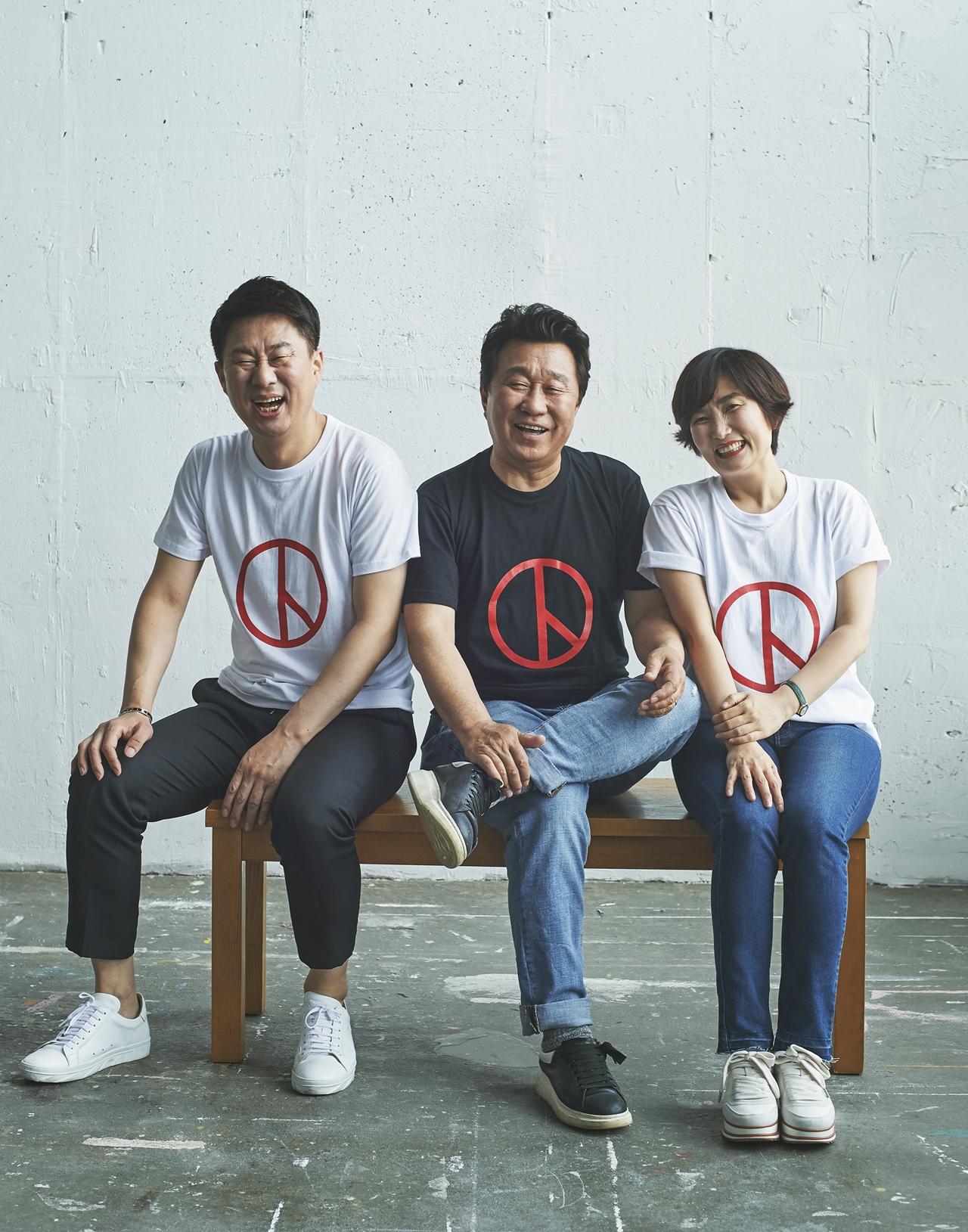 남희석·박경림, '코미디계 대부' 임하룡 40주년 함께 축하