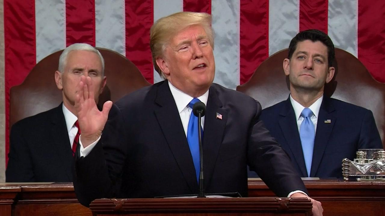 트럼프 대통령, 잇따라 유화 발언...이유는?