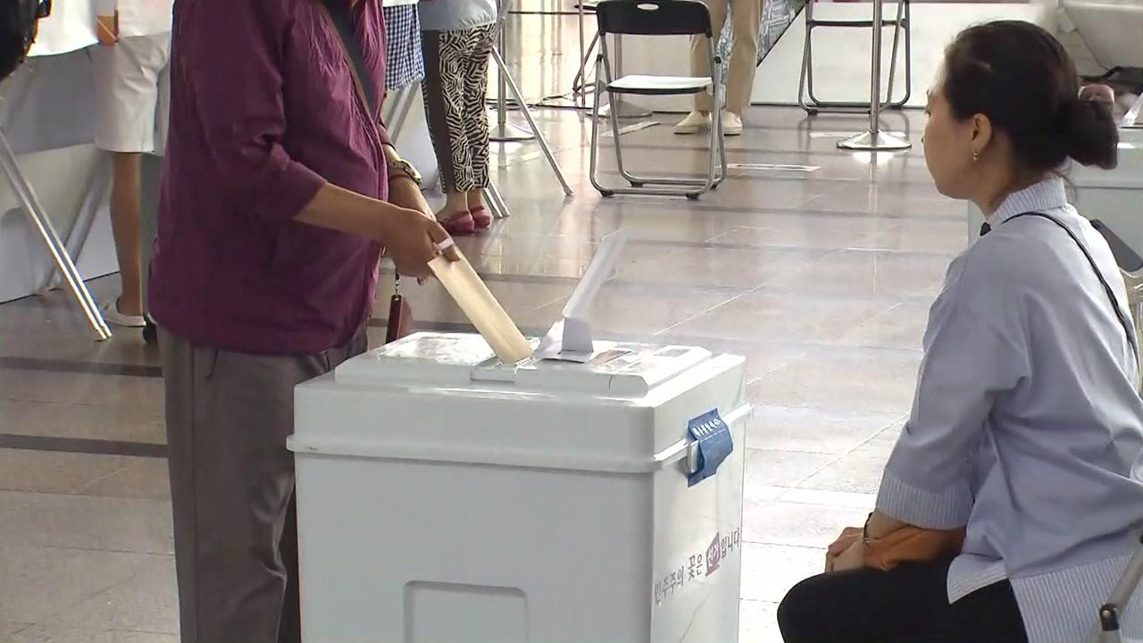 6·13 지방선거 최종 사전투표율 20.14%