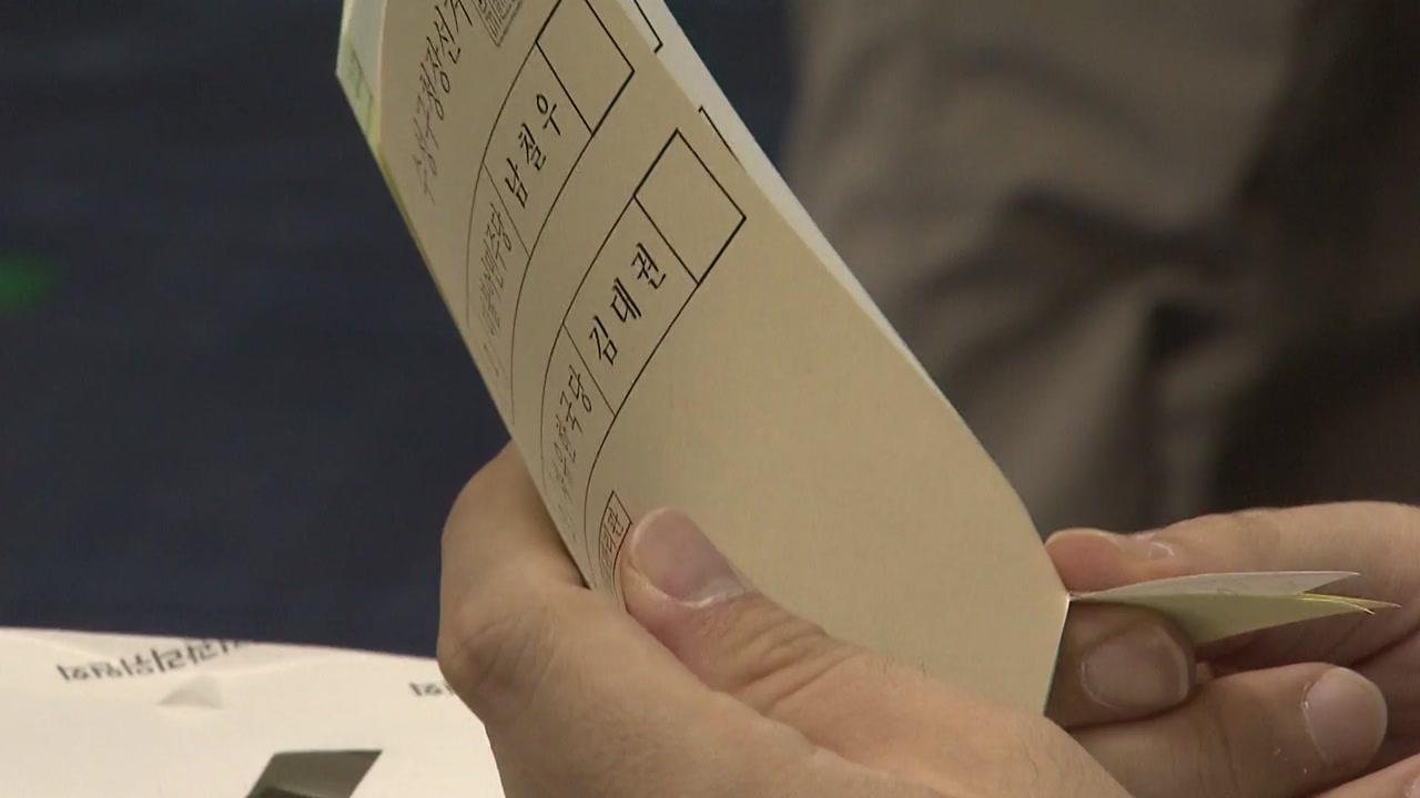 사전투표율 전국 최저 대구 민심은?