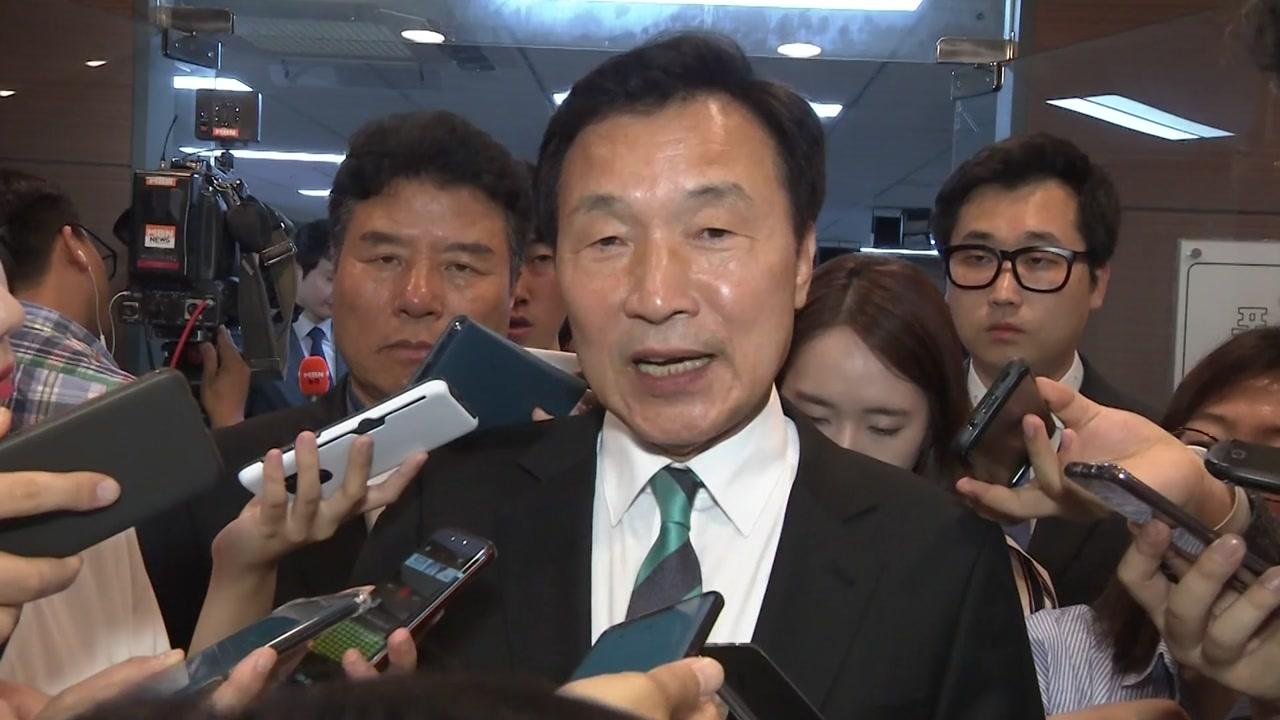 """손학규 """"평화공세 쓰나미 못 이겨...야권발 개편 필요"""""""