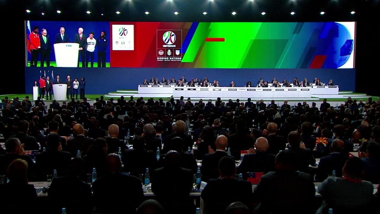 2026년 월드컵, 미국·멕시코·캐나다 공동 주최