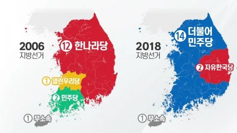 '비슷한 듯 다른' 2006·2018 지방선거