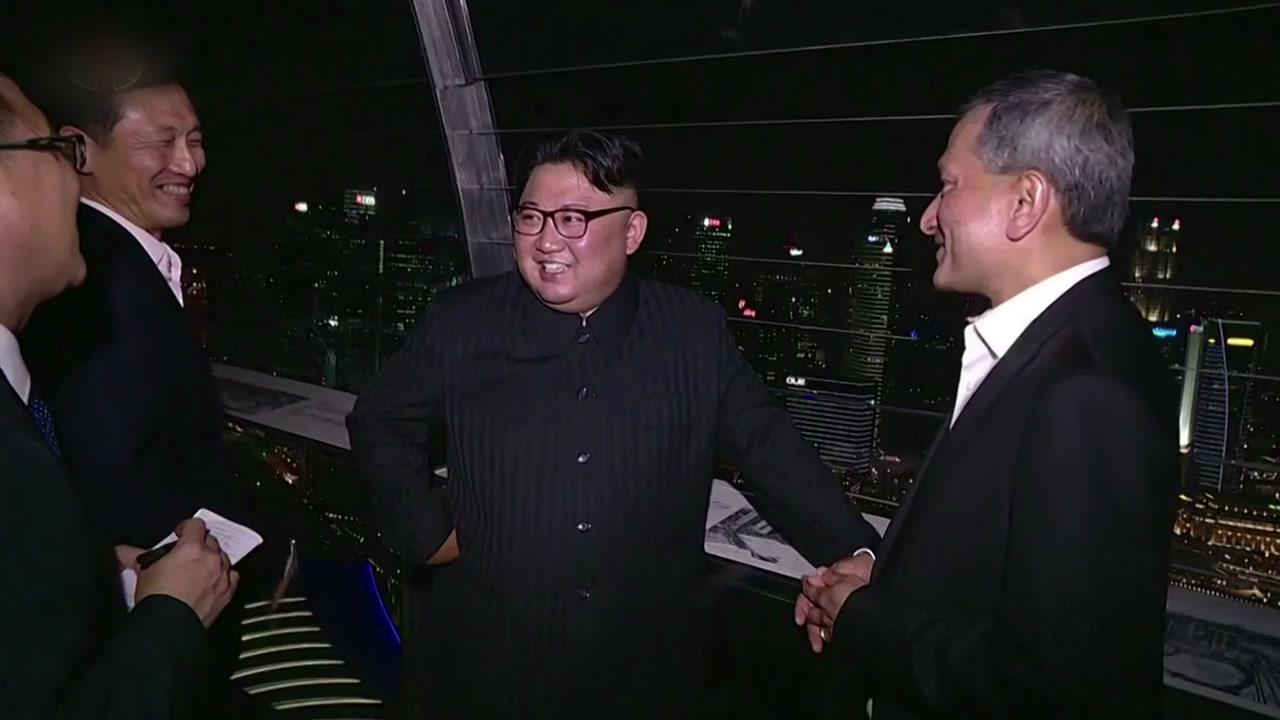 """北 """"북미 정상회담은 거대한 사변""""...대대적 보도"""